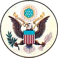 The OBVERSE side of America's great seal