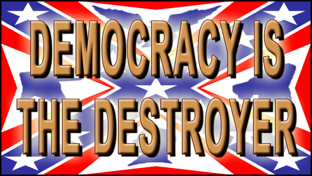 DEMOCRACY IS THE DESTROYER video thumbnail