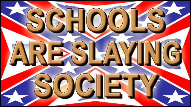 SCHOOLS ARE SLAYING SOCIETY video thumbnail